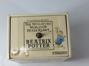 Peter Rabbit Miniature Book Collections,Tree Ornament & More