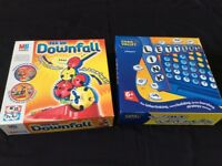 X2 children's games downfall and link letters age 6+ and 7+