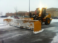 SNOW PLOWING AND SANDING TRUCK CALGARY AIRDRIE COCHRANE