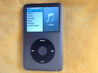 Classic retro Apple iPod touch 160gb 7th generation version 2