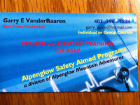 DO YOU NEED FIRST AID, CPR, AED CERTIFICATION?