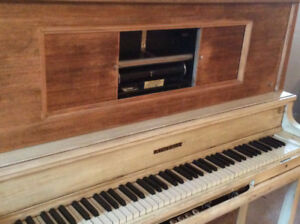 Kimball Antique Player Piano (also a Regular Piano)