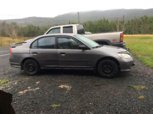 2004 Honda Civic Special edition Sedan- NEW PRICE