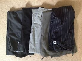 Job Lot of 5 Ladies Trousers Size 12