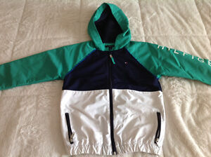 Brand new Tommy Hilfiger boy spring jacket size 6-7 years