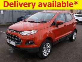 2015 Ford EcoSport Zetec Turbo 1.0 DAMAGED REPAIRABLE SALVAGE