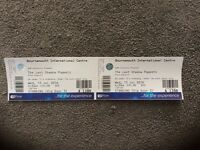 2 x tickets - The Last Shadow Puppets