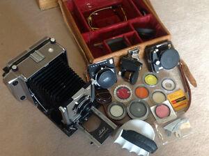 Classic Camera, Linhof Technika 9X12 cm with lenses & viewfinder