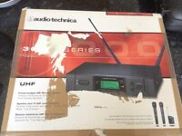 SOLD! Audio Technical wireless system for guitar and bass
