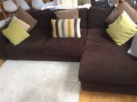 5 Seater Sofa & Chaise End - Fabulous for all the family