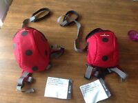 Littlelife ladybird safety reigns/ daysacks