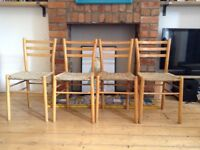 Dining chairs solid wood shabby chic excellent quality