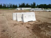 Brand New Concrete Traffic Barriers And Curbs Forsale