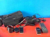 Panasonic G3 VHS-C Movie Camera NV-G3 Retro Camcorder (spares or repairs)