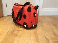 Ladybird Trunki Ride-on Children's Suitcase