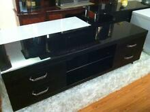 1.6m High Gloss LED LCD TV Cabinet Entertainment Display Unit Riverstone Blacktown Area Preview