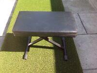 Piano stool/ music stand
