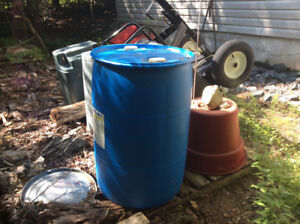 Water Containers (rain water) barrels