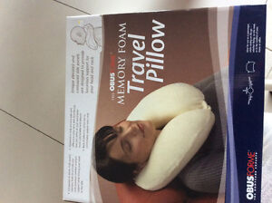 New - Obus Forme Memory Foam Travel Pillow