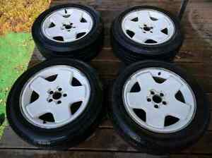 """Set of 4 white 16"""" Mags for Sale"""