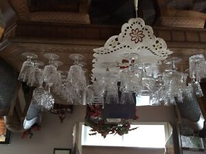Crystal glassware approx 40 pieces