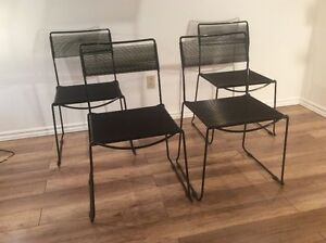 1980 Vintage Spaghetti Chairs by Belotti-Chaises Retro Italienne