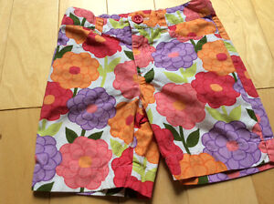 worn once  gymboree girls shorts size 3