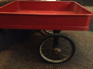 Antique SUNSHINE Tricycle Wagon