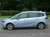 2017 Vauxhall Zafira 1.4T SRi Nav 7 Seater 5 Door Seven Seater MPV Petrol Manual