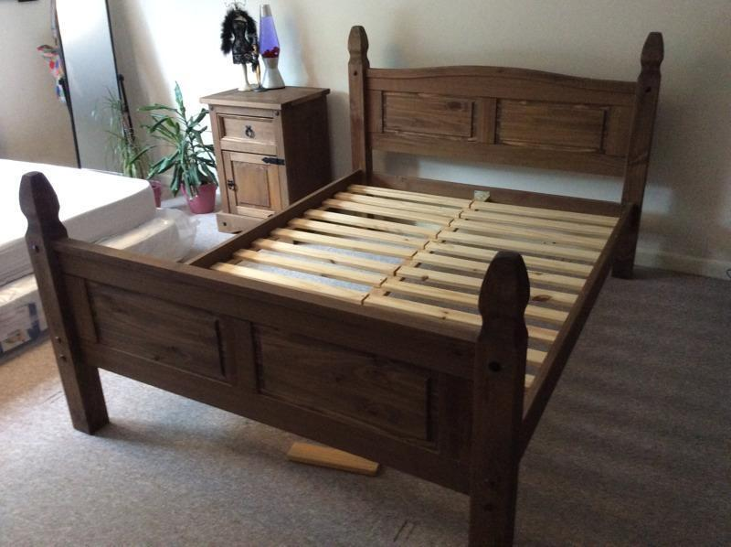 Wooden Double Bed Frame Gumtree