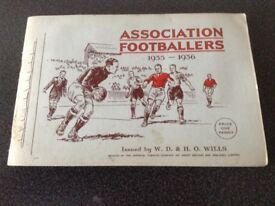 1935/36 Football book