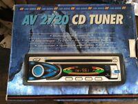 AV 2720 CAR AUDIO CD TUNER