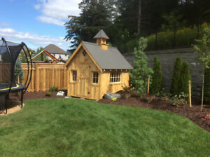 Mennonite Garden sheds and barns