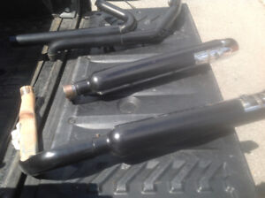 Harley touring exhaust