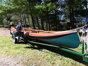 26' Motor Canoe Outfit