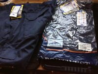 Brand new Portwest navy combat trousers