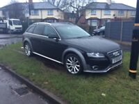 AUDI A4 ALLROADER 2 LTR TURBO DIESEL 6 SPEED 59 PLATE