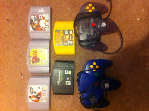 N64 Games and Controllers