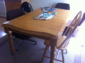 Solid Hardwood Table