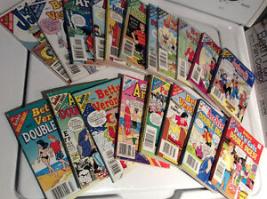 GIANT ARCHIE,JUGHEAD, BETTY & VERONICA DIGEST LOT