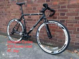 Hybrid Road bike racing bicycle teman alloy frame only €299
