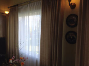 Lined Drapes And Sheers