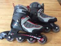 Inline skates adjustable size 12-3