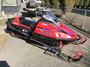 YAMAHA MOUNTIAN MAX 600 TWIN CYLINDER.....PRICE REDUCED ......