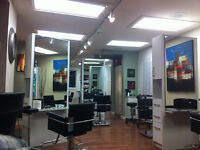 Work in mission area salon