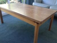 Wooden classic coffee table