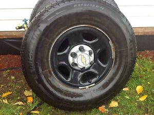 WINTER TIRES - Four (4) MICHELIN ICEX  265 75R 16