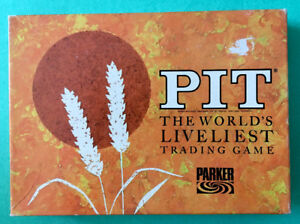 1964 Parker Brothers Pit Card Game- complete
