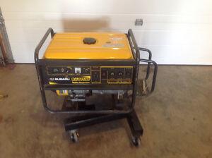 7500 watt Subaru generator