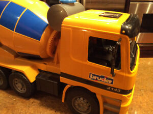 Bruder Cement Mixer Truck Made in Germany